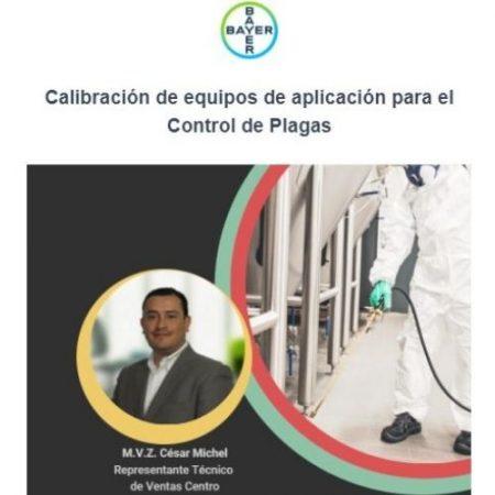 Calibración de Equipos para el Control de Plagas